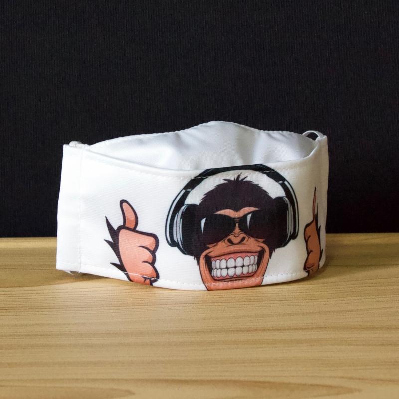 Masque de protection Singe